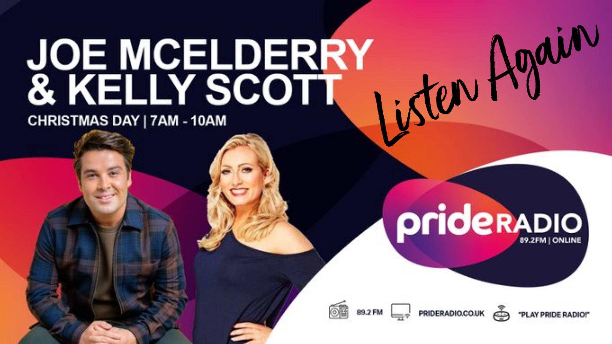 Listen Again with Joe McElderry & Kelly Scott Christmas Day